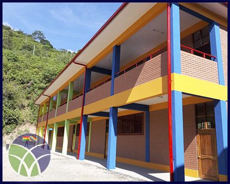 <span id='sec'>La Asunta - La Paz:</span><br><span id='prim'>Municipio de la Asunta se beneficia con infraestructura</span>