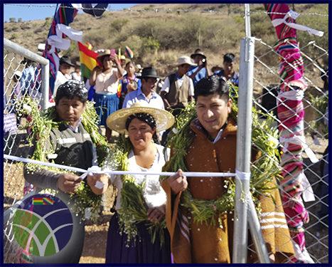 <span id='sec'>Anzaldo - Cochabamba:</span><br><span id='prim'>Más de 2 millones de bolivianos en sistema de riego para  el municipio de Anzaldo</span>