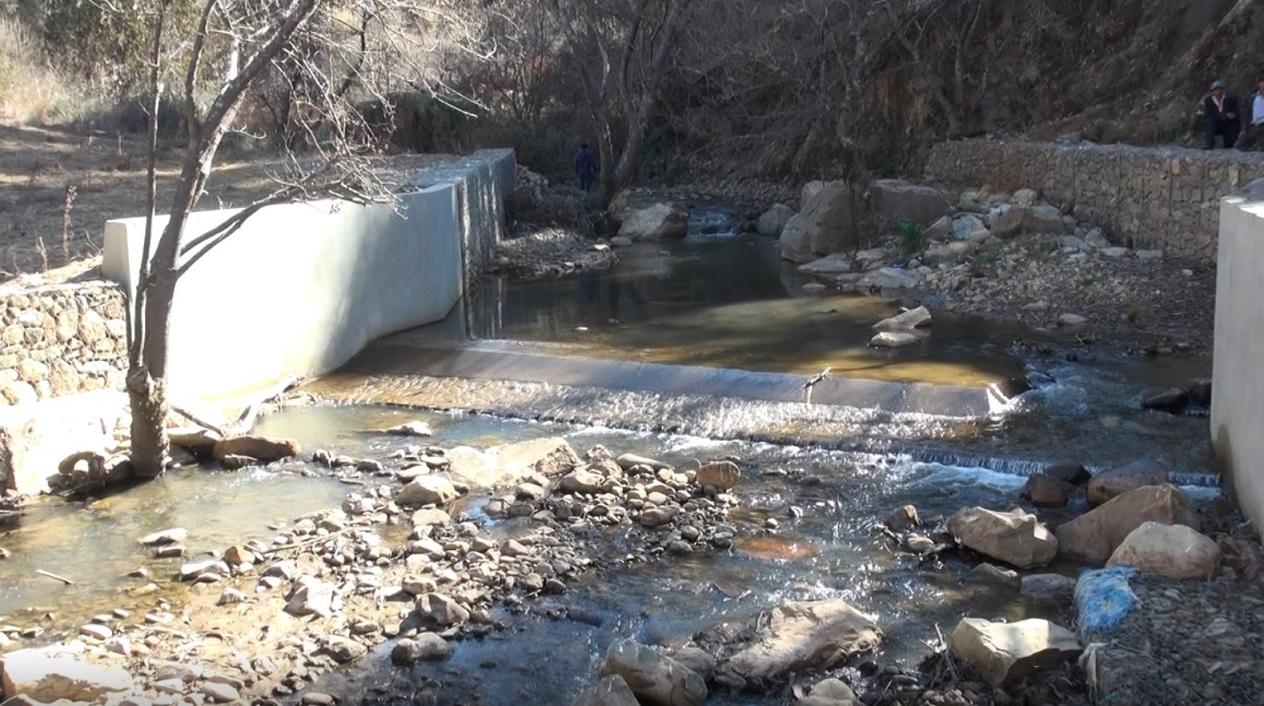 Gobierno invierte más de 1´000.000,00 de bolivianos en la construcción de un sistema de riego en Tiraque