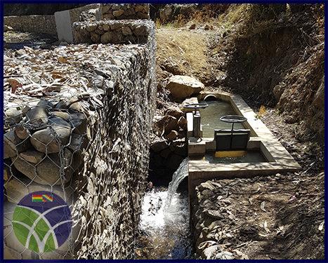 <span id='sec'>Tiraque - Cochabamba:</span><br><span id='prim'>Gobierno invierte más de 1´000.000,00 de bolivianos en la construcción de un sistema de riego en Tiraque</span>