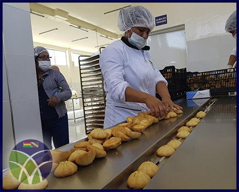 <span id='sec'>Capinota - Cochabamba:</span><br><span id='prim'>Entregan Planta Procesadora para desayuno escolar en Capinota, Cochabamba</span>