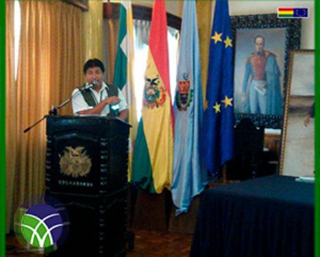 <span id='sec'>En el departamento de Cochabamba:</span><br><span id='prim'>MAS DE 116 MILLONES DE BOLIVIANOS FUERON EJECUTADOS EN APOYO AL DESARROLLO INTEGRAL CON COCA</span>