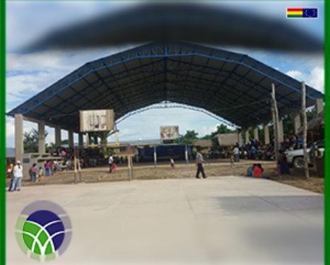 <span id='sec'>En el municipio de Palos Blancos:</span><br><span id='prim'>MÁS DE 800 MIL BOLIVIANOS EN INFRAESTRUCTURA EDUCATIVA PARA EL NORTE DE LA PAZ</span>