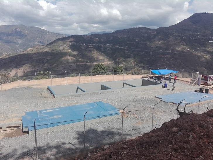 Entrega sistema de alcantarillado en Auquisamaña, Municipio de Coripata – La Paz