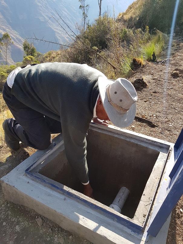 Municipio de Morochata se Beneficia con sistema  de riego