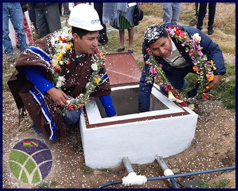 <span id='sec'>Independencia - Cochabamba:</span><br><span id='prim'>Gobierno beneficia a comunidad de Manzanani con sistema de riego</span>