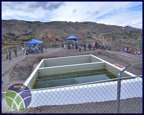 <span id='sec'>Capinota - Cochabamba:</span><br><span id='prim'>Comunidad de Apillapampa en el municipio de  Capinota,  se beneficia con sistema de riego</span>