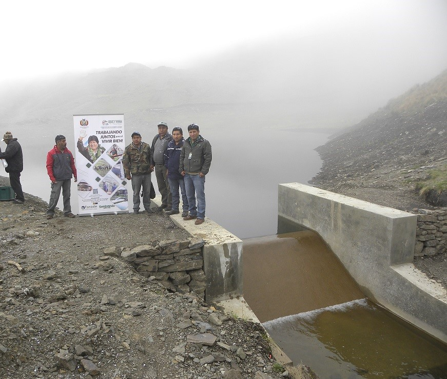 Entrega de Sistema de Riego Patamorochata, Morochata-Cochabamba