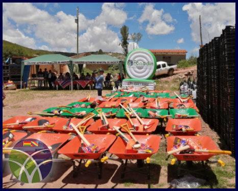 <span id='sec'>Anzaldo - Cochabamba:</span><br><span id='prim'>FONADIN fortalece la producción de tuna en el municipio de Anzaldo</span>