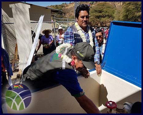 <span id='sec'>Tarata - Cochabamba:</span><br><span id='prim'>En Cochabamba, invierten cerca de 1´000.000,00 de bolivianos para sistema de riego en Tarata</span>